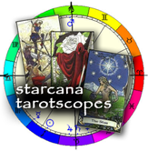Starcana Tarotscope, Tarotscopes Horoscopes, a twist of astrology and the tarot.